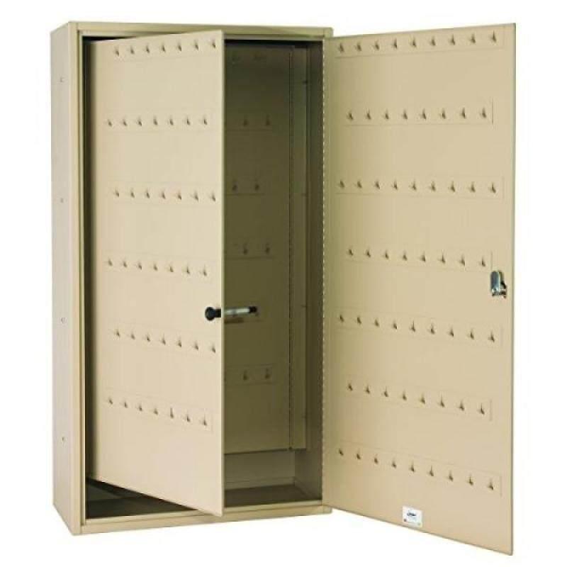 Steelmaster Fob-Friendly Key Cabinet, 31.125 x 16.5 x 8 Inches, 220-Key Capacity, Sand (201022003)