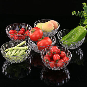 Suit small fruit diamond dessert gift promotional glass bowl