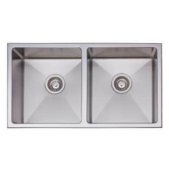 SUNSO 304 STAINLESS STEEL SINK DOUBLE BOWL S977