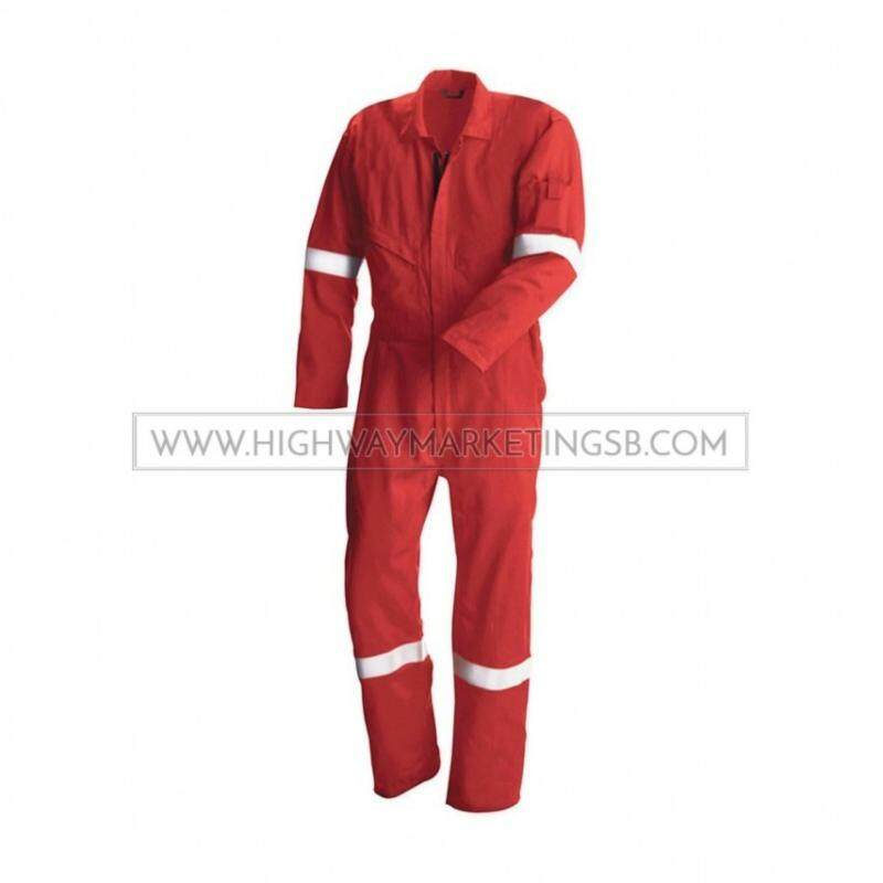 Buy Supersonic Safety Reflective Coverall Red Size 2XL Malaysia