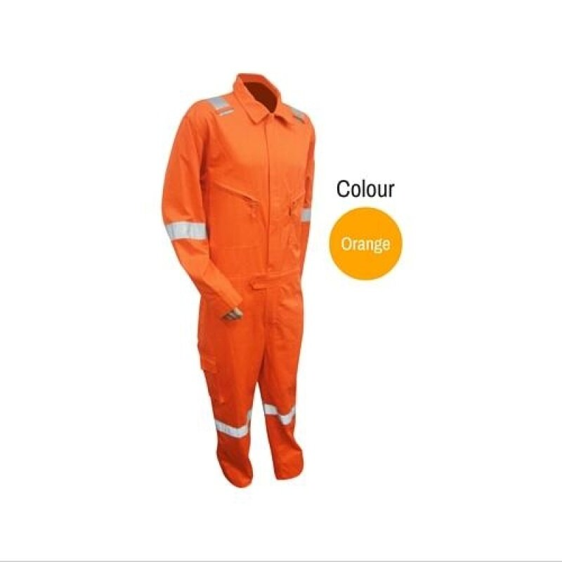 Buy Tanker Cool Series Coverall Orange (M) Malaysia