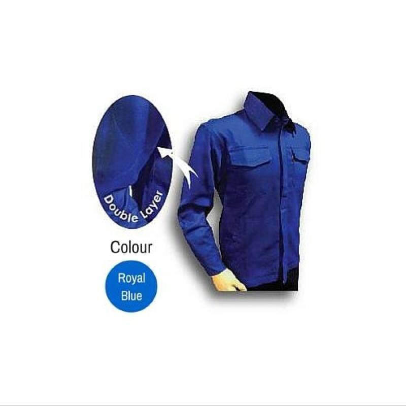 Buy Tanker Welding Jacket Royal Blue (2XL) Malaysia