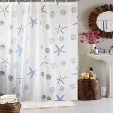 Nice Tata House Shower Curtain Waterproof Anti Mildew Bathroom Shower Curtain  Cloth Starfish Bathroom Bath Block Off The Curtain With Hook