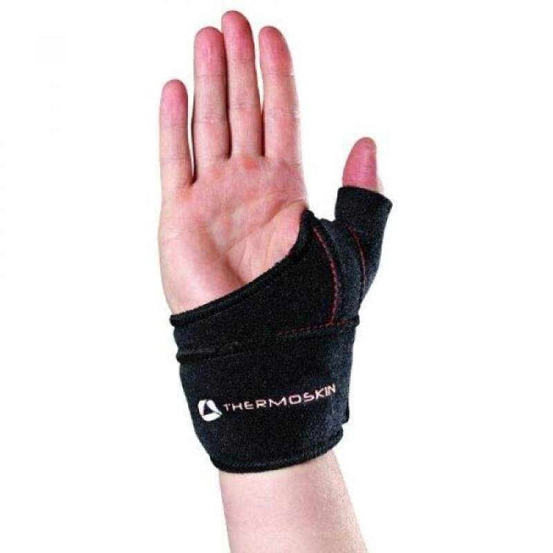 Buy Thermoskin Thumb CMC Left Wrist Wrap, Black, and Malaysia