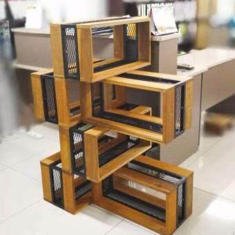 Timber Mix Design Modular Rack - 2
