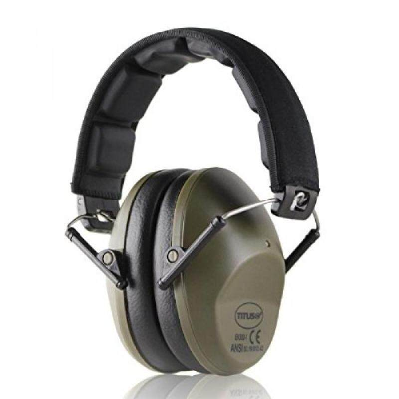 Buy Titus Low Profile 34 NRR Earmuffs - Highest NRR Available For Slim Design Malaysia
