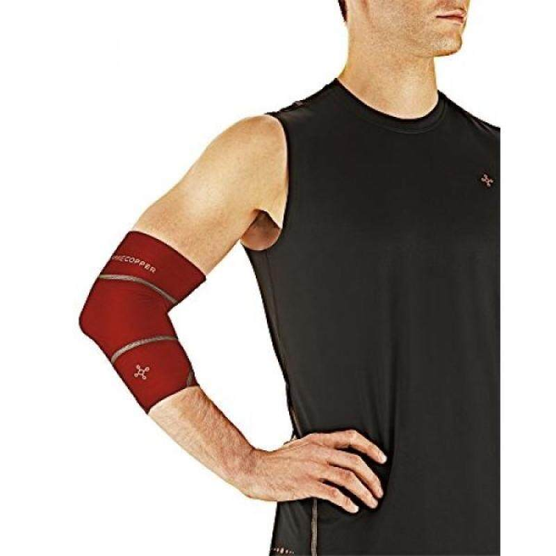 Buy Tommie Copper Mens Performance Boost Elbow Sleeve, Flag Red, Malaysia