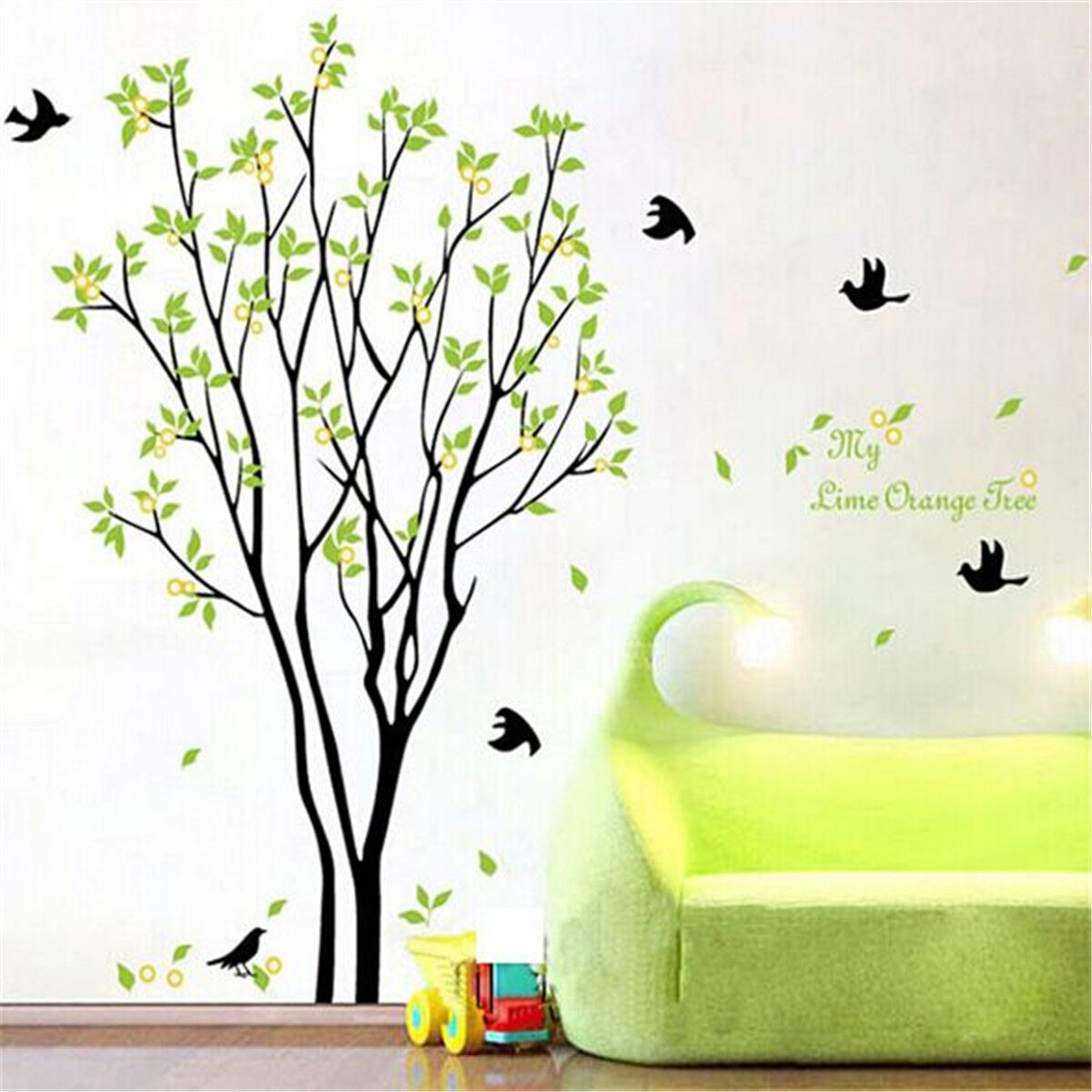 tree bird quote removable vinyl wall decal mural home art diy  - tree bird quote removable vinyl wall decal mural home art diy decorstickers  lazada malaysia