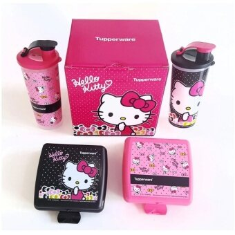 Harga Tupperware Hello Kitty Lunch Set - Limited Edition