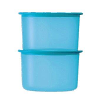 Harga Tupperware One Touch Airtight 100% Topper Junior 2x600ml (FREESHIPPING)