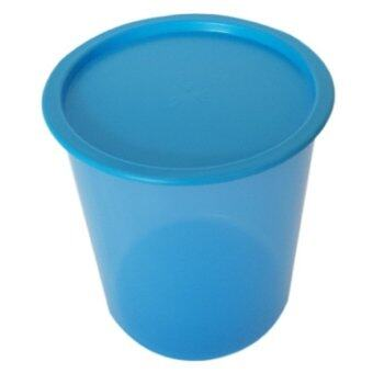 Harga Tupperware One Touch Canister Medium 3L blue color