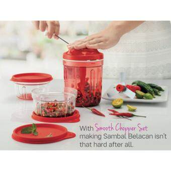 Harga Tupperware Smooth Chopper Deluxe Set