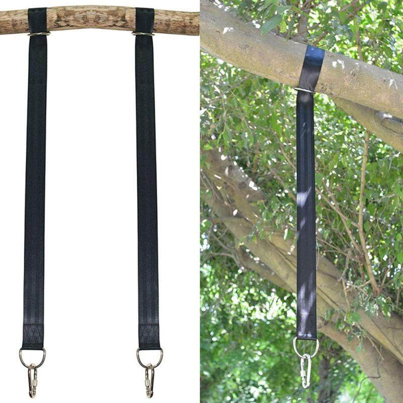 Buy Umiwe Tree Swing Straps - 3.5 FT Smooth High Strength Polyester Safety Hanging Rope Kit Holds 2200lb With Strong Heavy Duty 2 Safety Lock Carabiner Hooks For Swings,Hammocks(2 Pack, Black ) Malaysia