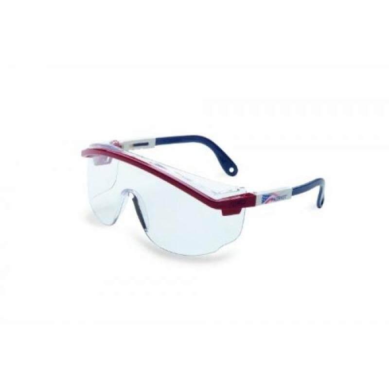 Buy Uvex S2730C Astrospec 3000 Slim Safety Eyewear, Red/White/Blue Frame, Clear UV Extreme Anti-Fog Lens Malaysia