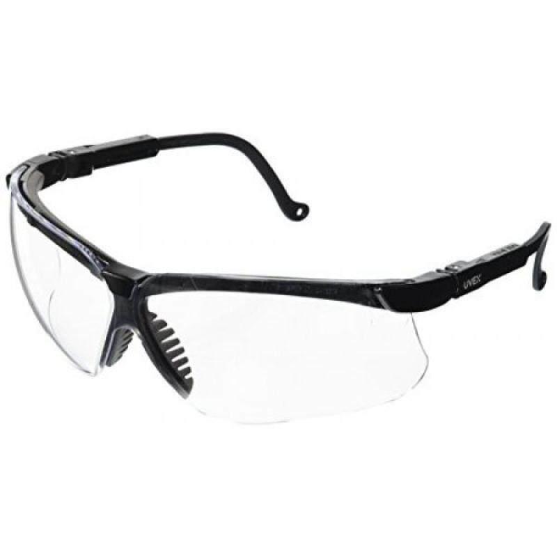 Buy Uvex S3200 Genesis Safety Eyewear, Black Frame, Clear Ultra-Dura Hardcoat Lens Malaysia