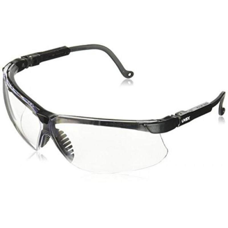 Buy Uvex S3200D Genesis Safety Eyewear, Black Frame, Clear Dura-Streme Hardcoat/Anti-Fog Lens Malaysia