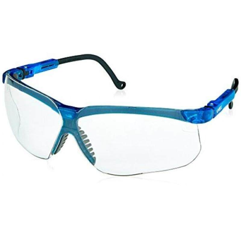 Buy Uvex S3240X Genesis Safety Eyewear, Vapor Blue Frame, Clear UV Extreme Anti-Fog Lens Malaysia