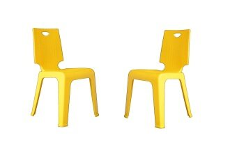 Exceptional V CHAIR + IM888 + POLYPROPYLENE CHAIR + (YELLOW)