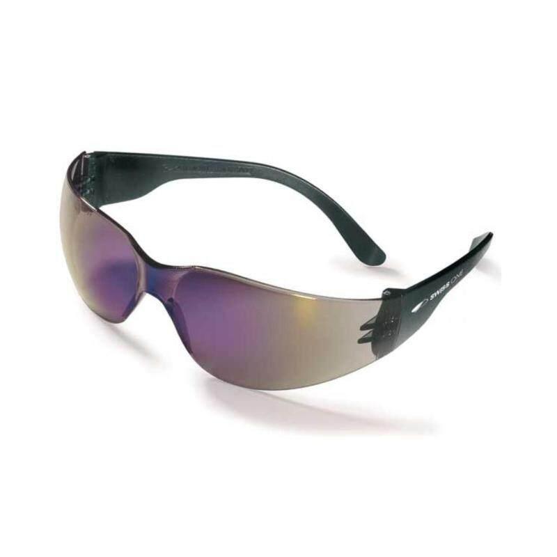 V2 Safety Eyewear Goggle Reflective Black (Code#10)