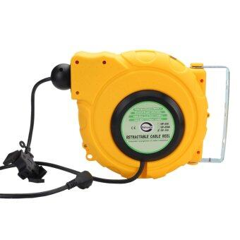 valianto gp150 50ft electric retractable power cord reel