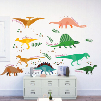 Wallpaper self-adhesive children's room bedroom living room nursery wall decoration products stickers cartoon animal stickers can be removed