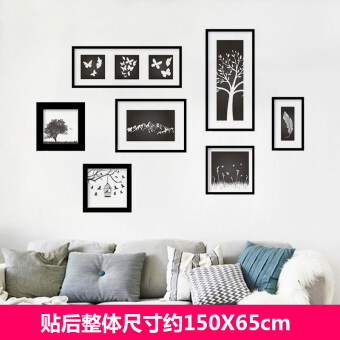 Warm Artistic Living Room Poster Girlu0027s Sticker Wall Adhesive Paper Part 75