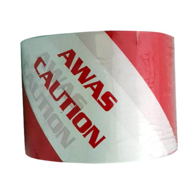 Buy Warning Caution Awas Tape 72mm x 50m Red/Whit Malaysia