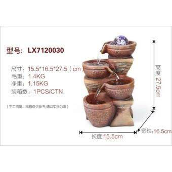 Water Fountain LX7120030 FENG SHUI WATER FEATURE HOME DECORATION