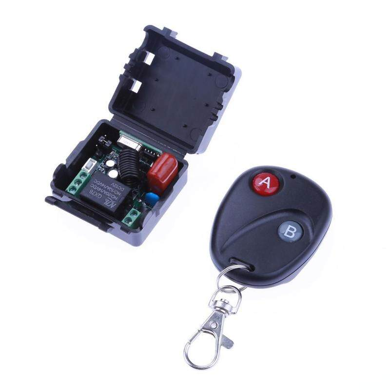 Buy Wireless Remote Control AC180-240V 1 Channel One Way Relay Module Switch Malaysia
