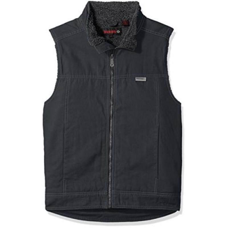 Buy Wolverine Mens Porter Sherpa Lined Vest, Granite, Malaysia