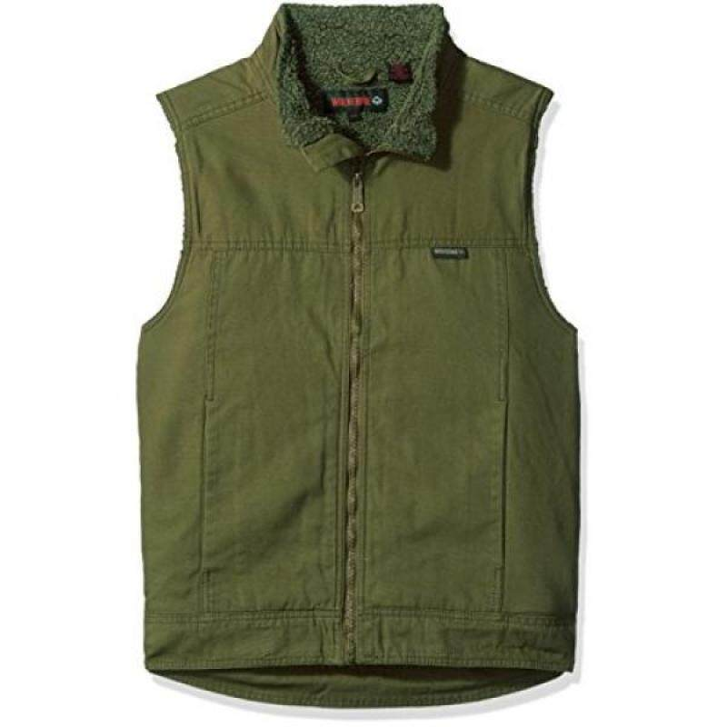 Buy Wolverine Mens Porter Sherpa Lined Vest, Peat, Malaysia
