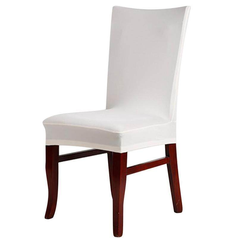 Womdee Universal Stretch Removable Washable Short Dining Chair Cover Protector Seat Slipcover for Hotel,Dining Room,Ceremony