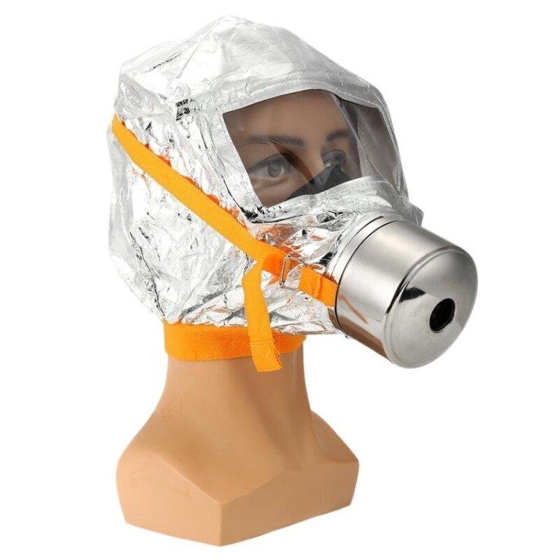 WSmall Fire Mask Emergency Escape Mask Oxygen Mask Smoke Gas Maskself-Life-Saving Respirator For Home Hotel Shop Market