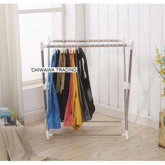 ... X Shape High Quality Stainless Steel Retractable Clothes Drying And  Hanging Hanger Rack GUARANTEE NOT RUSTY ...