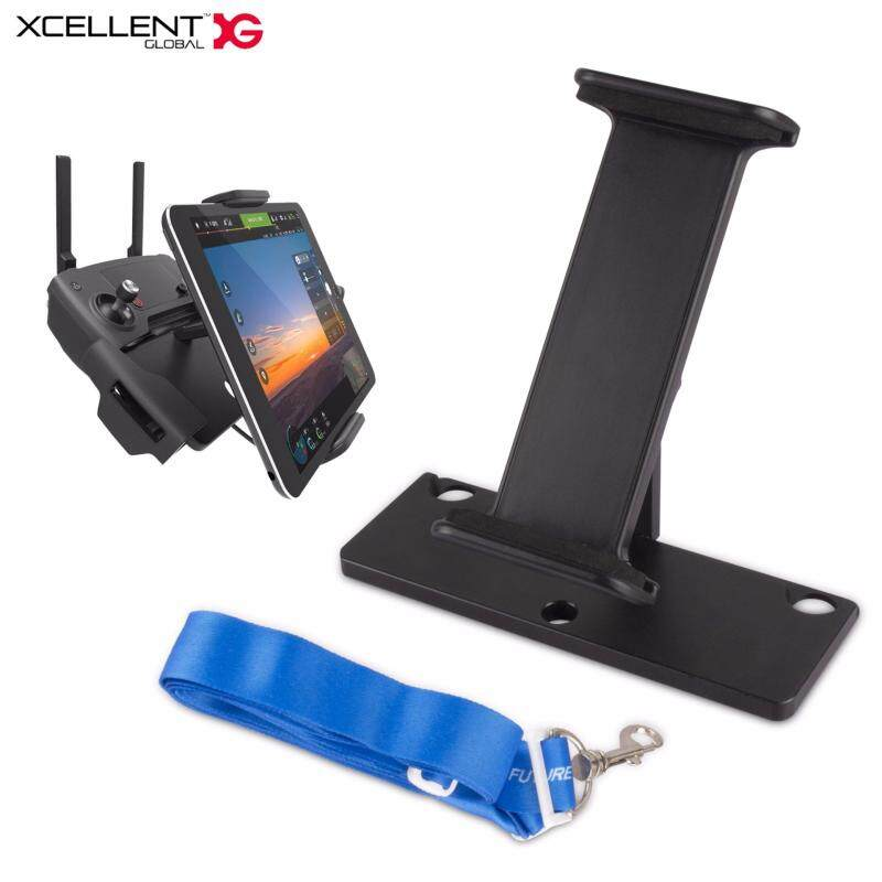 """Buy Xcellent Global 4'' - 12"""" Tablet Phone Mount Holder Bracket Foldable ABS for DJI Spark & Mavic Pro Remote Control Malaysia"""