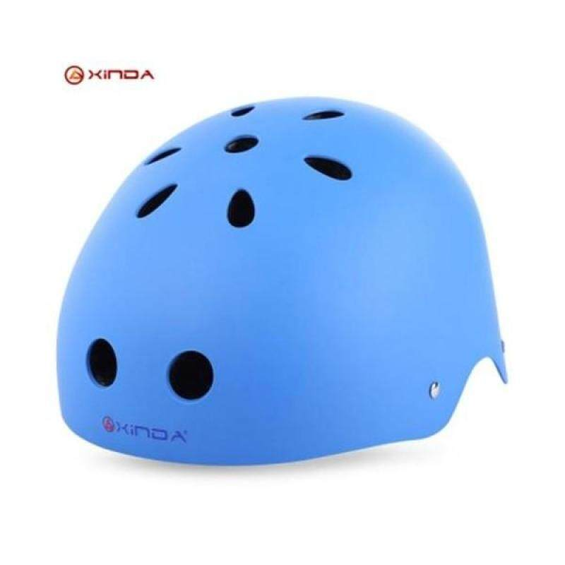 Buy XINDA ADJUSTABLE MOUNTAINEERING HELMET HEAD SAFETY GUARD PROTECTIVE GEAR RESCUE TOOL (BLUE) Malaysia