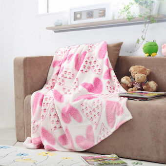 Yueer textile blanket summer blanket air conditioning blanket towelis coral velvet linen coral carpet