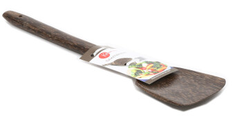 Harga Zeco Sea Coconut Palm Wood Spatula / Turner - 35cm - Flat