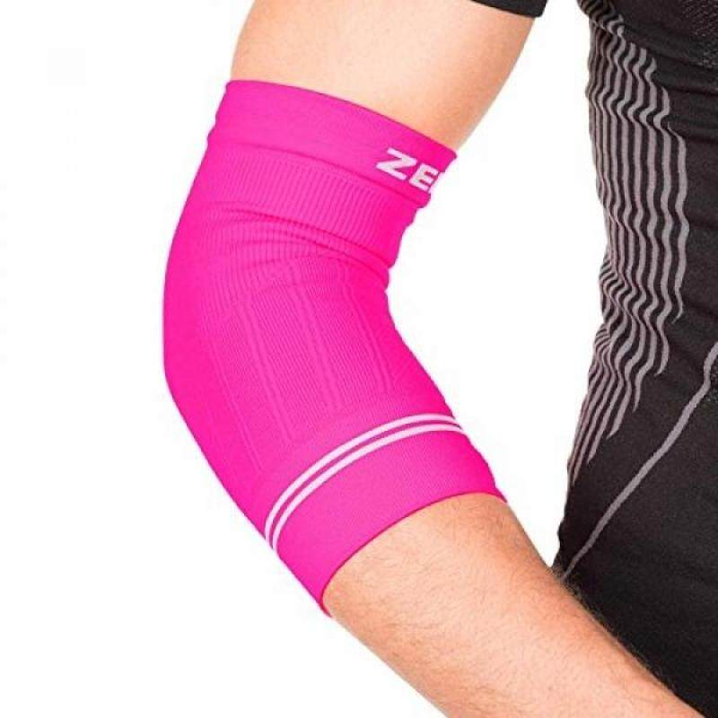 Buy Zensah Compression Tennis Elbow Sleeve for Elbow Tendonitis, Tennis Elbow, Golfers Elbow - Elbow Support, Elbow Brace,,Neon Pink Malaysia