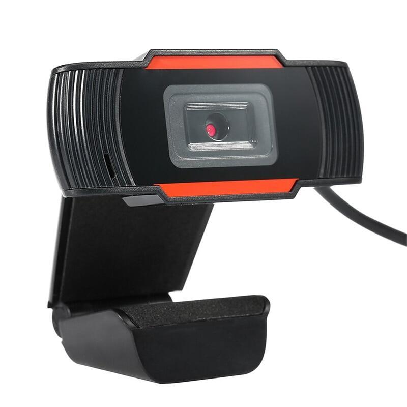 KEBETEME Webcam Độ Nét Cao 480P 720P Máy Quay USB Có Thể Xoay Ghi Video Camera Web Với Micrô Cho Máy Tính Để Bàn 5
