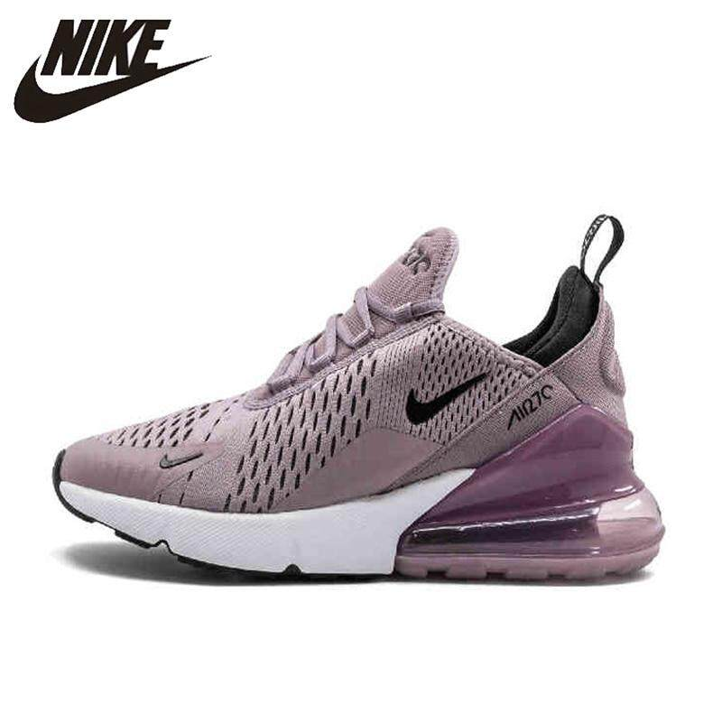buy online 253d5 6558b Nike Air Max 270 women's running shoes outdoor sports shoes comfortable  breathable purple