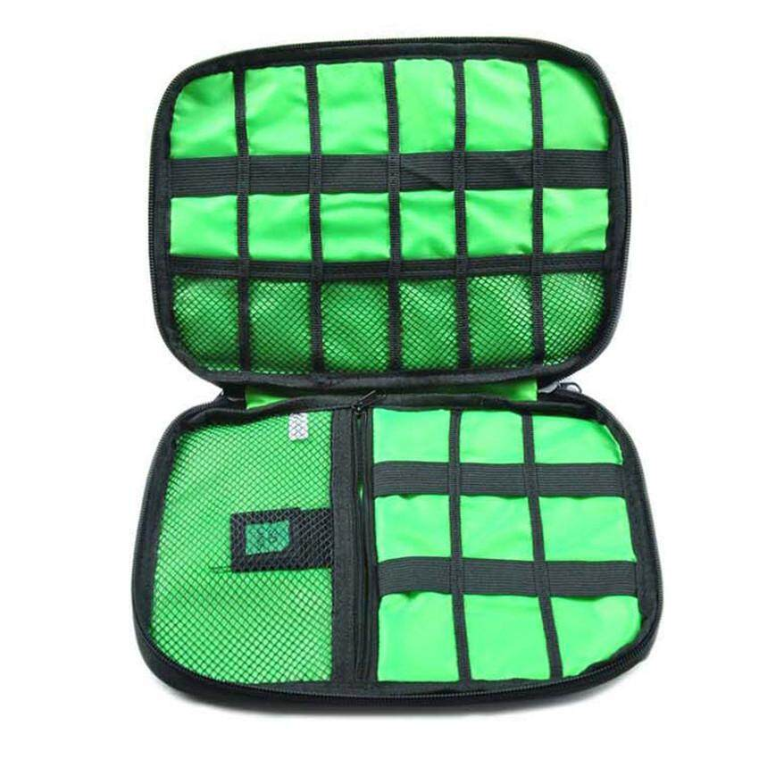 1c17f4491dc6 Gadget Cable Organizer Storage Bag Travel Electronic Accessories Cable  Pouch Case USB Charger Power Bank Holder Digitals Kit Bag