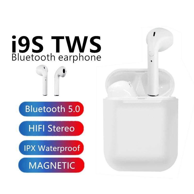 Ago Wireless Earbuds Mini Bluetooth Earphone I9S TWS Bluetooth 5 0 In Ear  Headphone Twins Stereo Earpiece Headset with Microphone Earpods