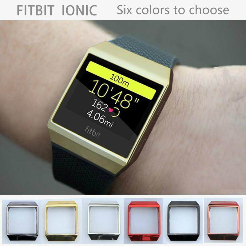 【Fitbit ionic】 For Fitbit ionic Case Replacement TPU Frame Shell Cover  Protective Case for Fitbit Ionic Smart Watch Colorful Watch Case
