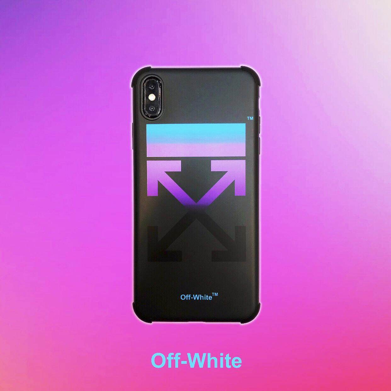 funda iphone xs off white