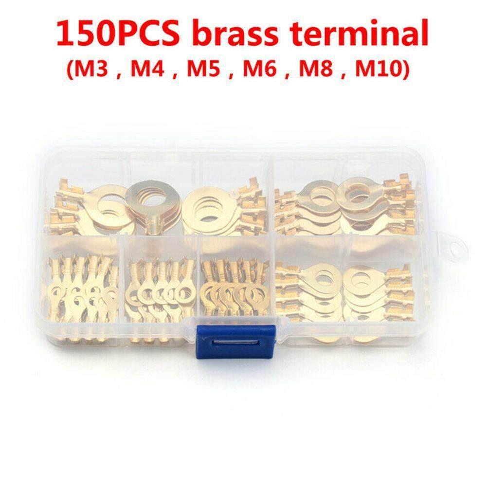 100 x 4.2mm Crimp Ring Terminal
