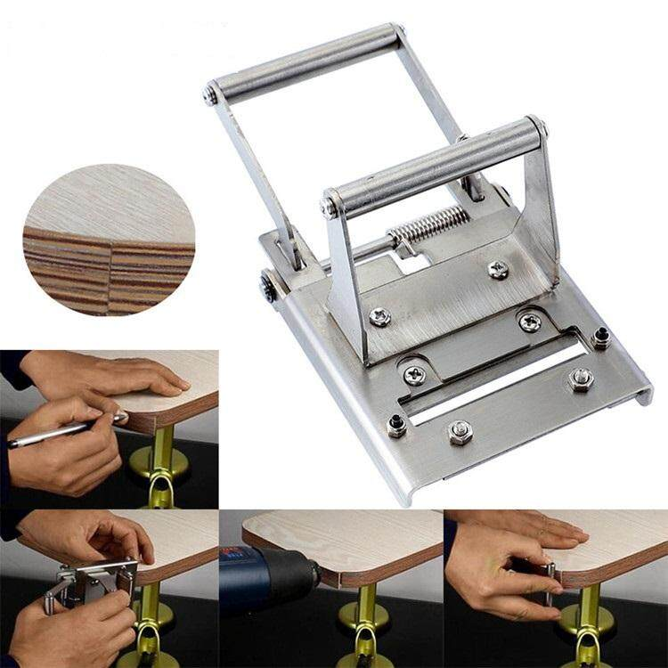 HT [Free shipping] Edge Cutter Stainless Steel Edge Trimmer Cutting Curve  and Straight Edge Banding Woodworking Hand Tools