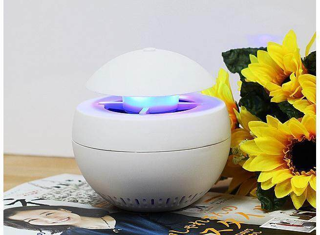 3 In 1 USB Aroma Led Mosquito Killer Lamp Mosquito Zapper With Night Lamp & Aroma Diffuser Pink
