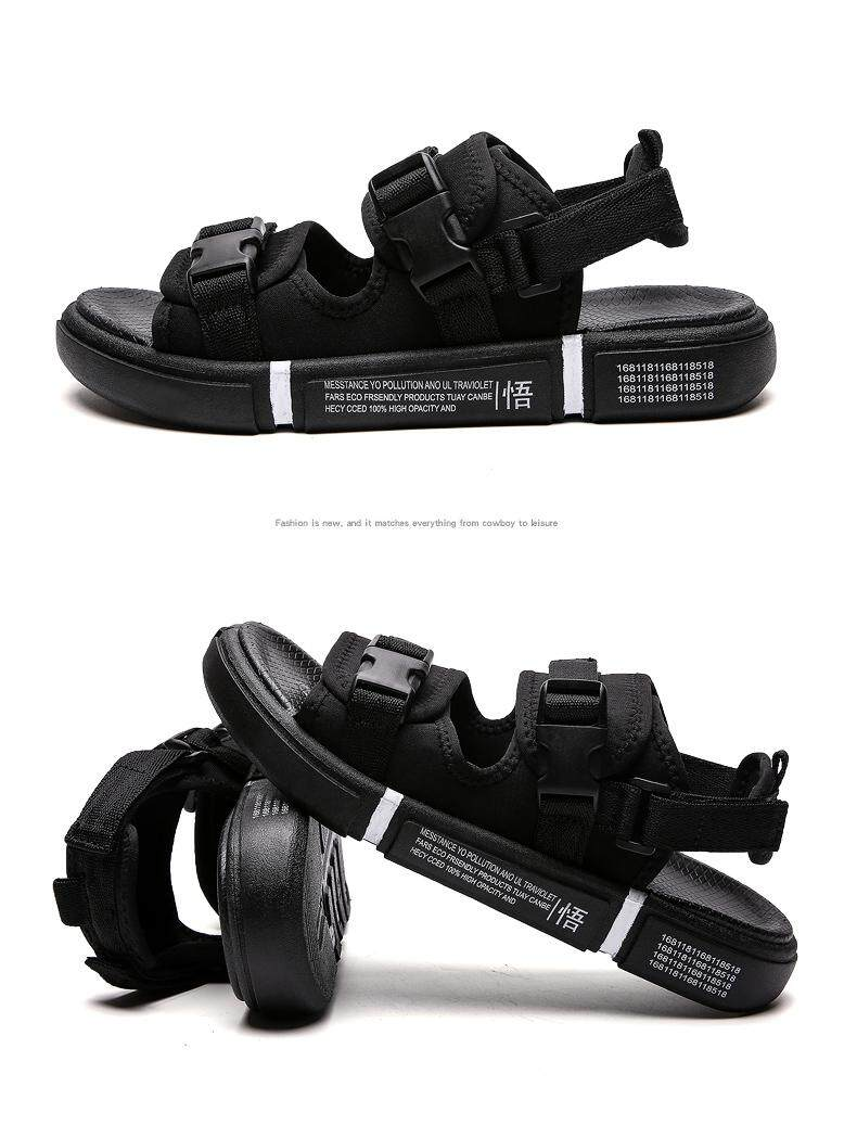 Zhenheng Men S Sandals 2019 New Fashion Summer Breathable Shoes For Men Leisure Sandals Read Stock Lazada