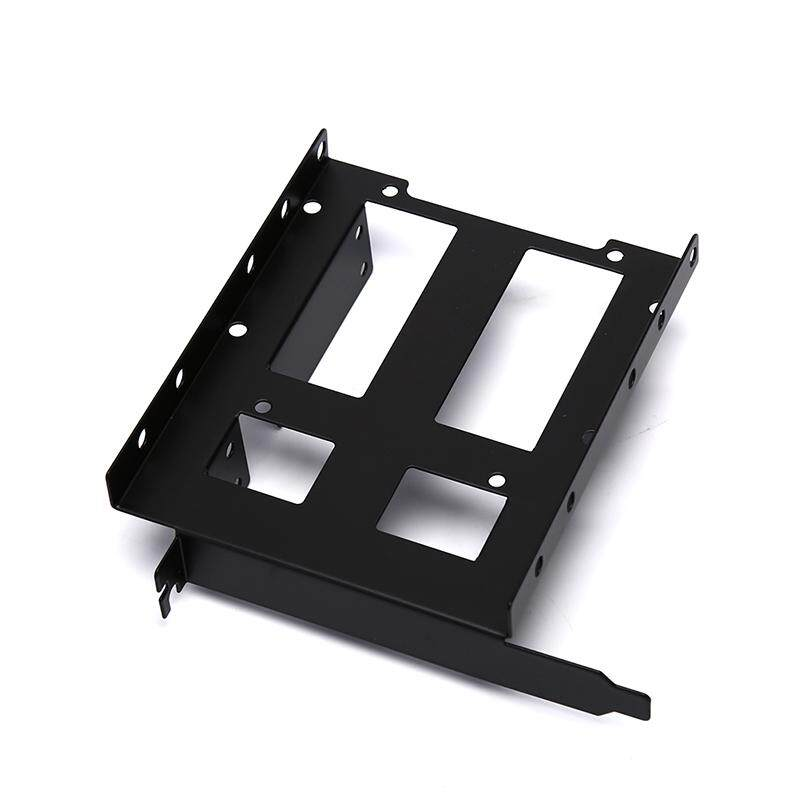 Interface 3.5inch SSD HDD to 5.25 Bay Adapter Metal Mounting Adapter Bracket 3Pack
